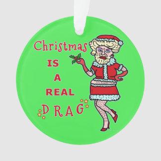 Adorno Embaucamiento divertido Santa de Bah del navidad