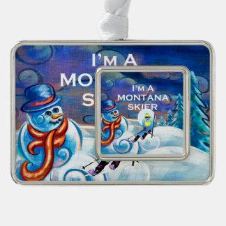 Adorno Esquiador SUPERIOR de Montana