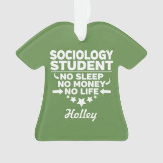 Adorno Estudiante de la sociología ninguna vida o dinero