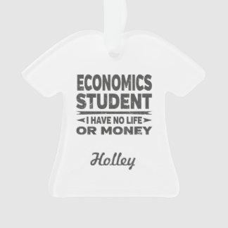 Adorno Estudiante universitario de la economía ninguna