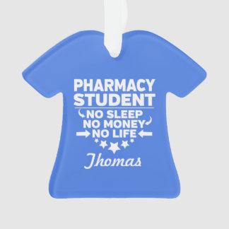 Adorno Estudiante universitario de la farmacia ninguna