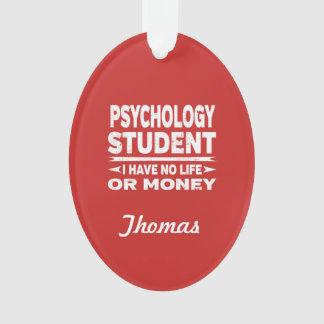 Adorno Estudiante universitario de la psicología ninguna