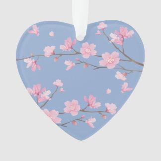 Adorno Flor de cerezo - azul de la serenidad -