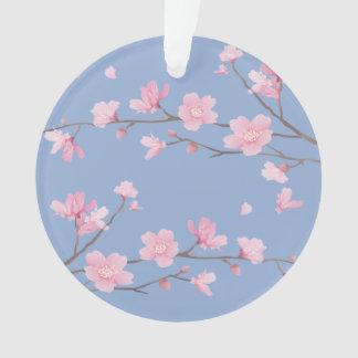 Adorno Flor de cerezo - azul de la serenidad - FELIZ