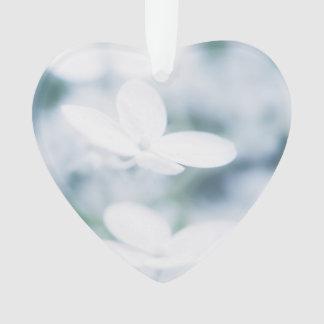 Adorno Flores blancos hermosos del hydrangea