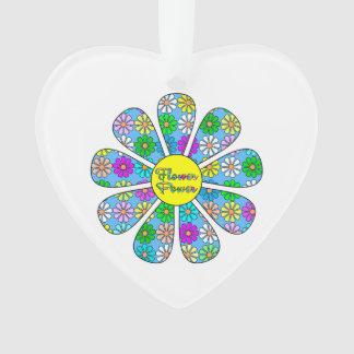 Adorno Flower power feliz