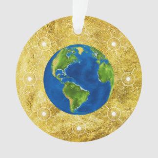 Adorno Globo de oro del árbol de Jesse