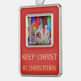 Adorno Guarde el navidad de Cristo n con la natividad y