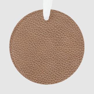 Adorno Imitación de cuero Brown natural