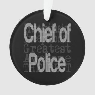 Adorno Jefe de policía Extraordinaire