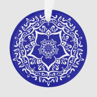 Adorno Mandala del zafiro