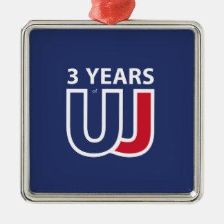 Adorno Metálico 3 Years Of Union J ack