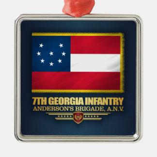 Adorno Metálico 7mo Infantería de Georgia (1)