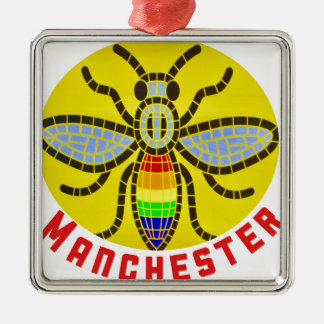 Adorno Metálico Abeja de Manchester