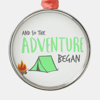 Adorno Metálico adventurebegan