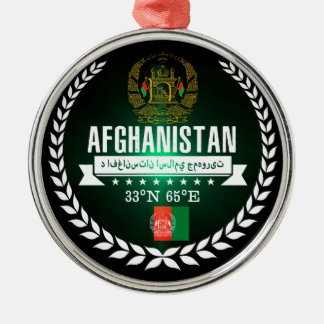 Adorno Metálico Afganistán