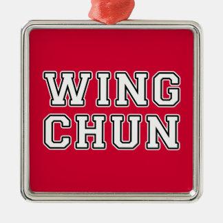 Adorno Metálico Ala Chun