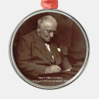 Adorno Metálico Albert Guillermo Ketelbey