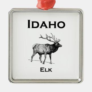 Adorno Metálico Alces de Idaho