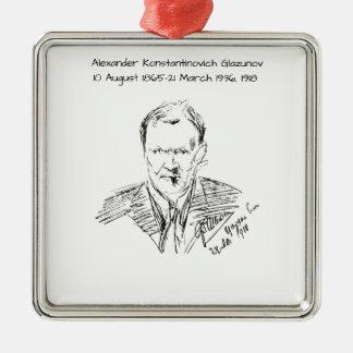 Adorno Metálico Alexander Konstamtinovich Glazunov 1918