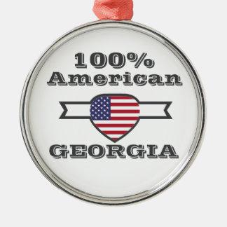 Adorno Metálico Americano del 100%, Georgia