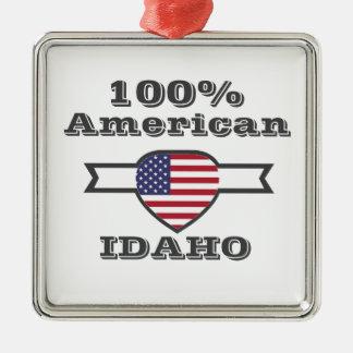Adorno Metálico Americano del 100%, Idaho