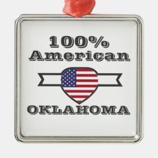 Adorno Metálico Americano del 100%, Oklahoma