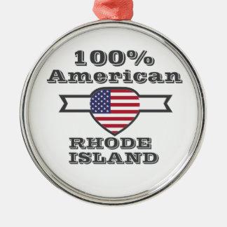 Adorno Metálico Americano del 100%, Rhode Island