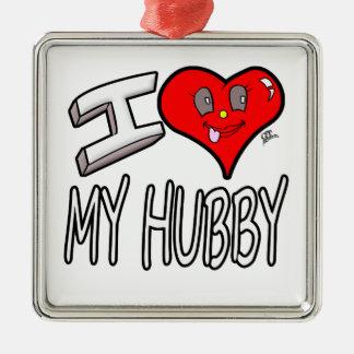 Adorno Metálico Amo a mi marido