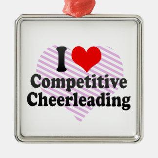 Adorno Metálico Amo animar competitivo