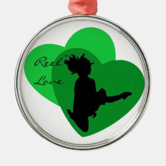 Adorno Metálico Amor del carrete - danza del irlandés