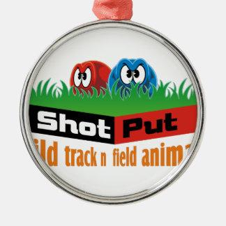 Adorno Metálico Animales salvajes del atletismo