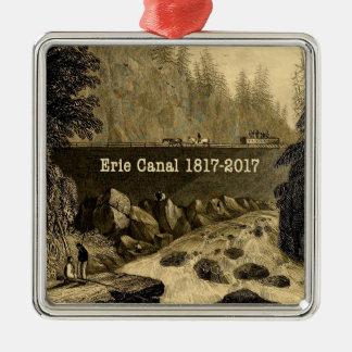 Adorno Metálico Años bicentenarios del canal Erie histórico