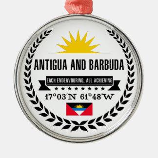 Adorno Metálico Antigua y Barbuda