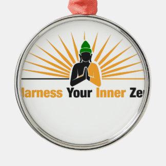 Adorno Metálico Aproveche su zen interno
