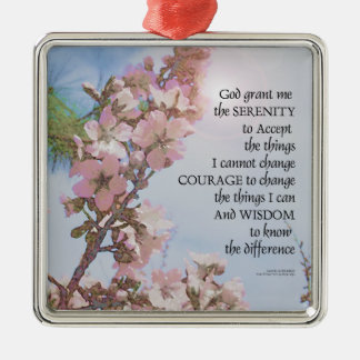 Adorno Metálico Árbol del cielo de los flores del rezo de la
