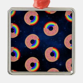 Adorno Metálico Arco iris del buñuelo de la galaxia
