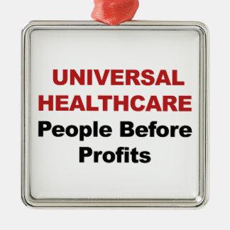 Adorno Metálico Atención sanitaria universal