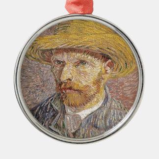 Adorno Metálico Autorretrato de Van Gogh