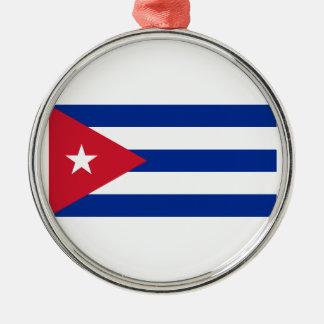 Adorno Metálico ¡Bajo costo! Bandera de Cuba