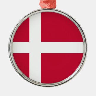 Adorno Metálico ¡Bajo costo! Bandera de Dinamarca