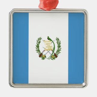Adorno Metálico ¡Bajo costo! Bandera de Guatemala