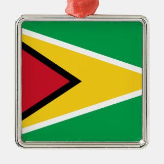 Adorno Metálico ¡Bajo costo! Bandera de Guyana