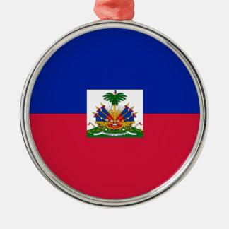 Adorno Metálico ¡Bajo costo! Bandera de Haití