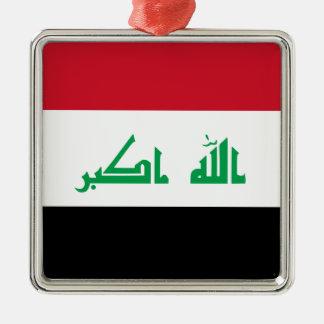 Adorno Metálico ¡Bajo costo! Bandera de Iraq