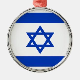 Adorno Metálico ¡Bajo costo! Bandera de Israel