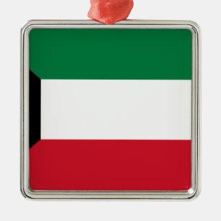 Adorno Metálico ¡Bajo costo! Bandera de Kuwait