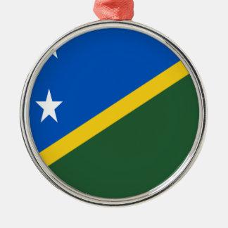 Adorno Metálico ¡Bajo costo! Bandera de Solomon Island