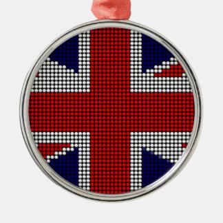 Adorno Metálico Bandera de británicos de la bandera del Union Jack