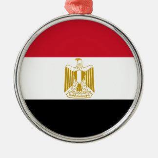 Adorno Metálico Bandera de Egipto